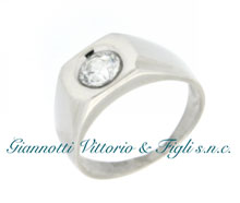 Anello Uomo in Argento 925/ooo lucido