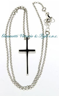 Croce con Catena in Argento 925/ooo