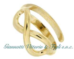Anello Donna Argento 925/ooo color Oro